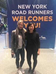 New run bud, Andrea, we met on the plane!